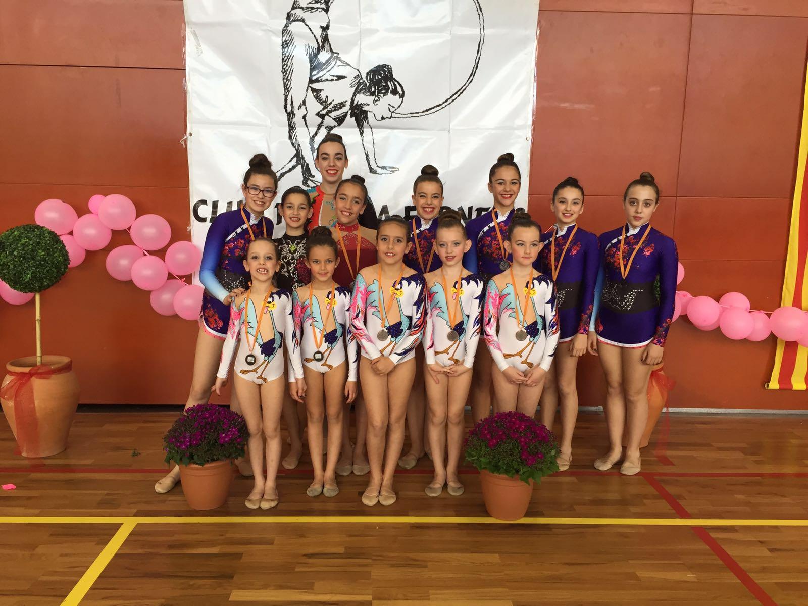 Gran Trofeu a Santa Coloma de Farners del Club Gimnàstic San Roque