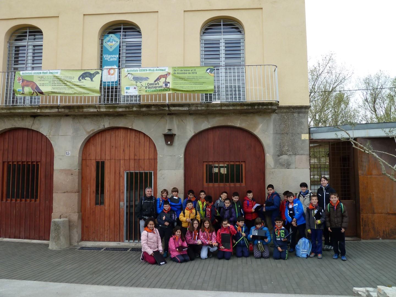 El projecte 'Coneix el teu riu' descobreix l'ecosistema als escolars vilanovins