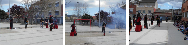 L'Escola Joan Maragall s'endinsa en el món del foc de la mà dels diables
