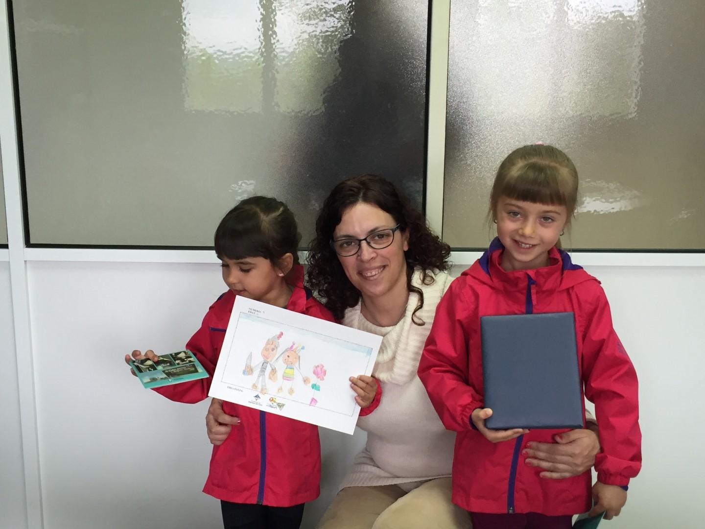 Cultura lliura els premis als guanyadors del concurs de dibuixos de Sant Jordi