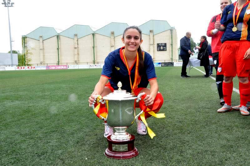 L'equip de la vilanovina Laura Martínez es proclama campió d'Espanya