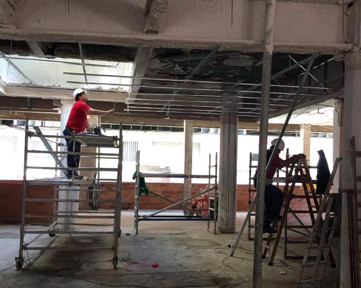 Les obres del Casal es reprenen després de setmanes d'inactivitat