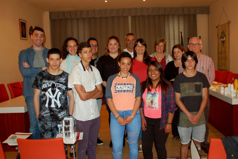 Cinc alumnes de l'INS Pla de les Moreres participen amb èxit al projecte Morera