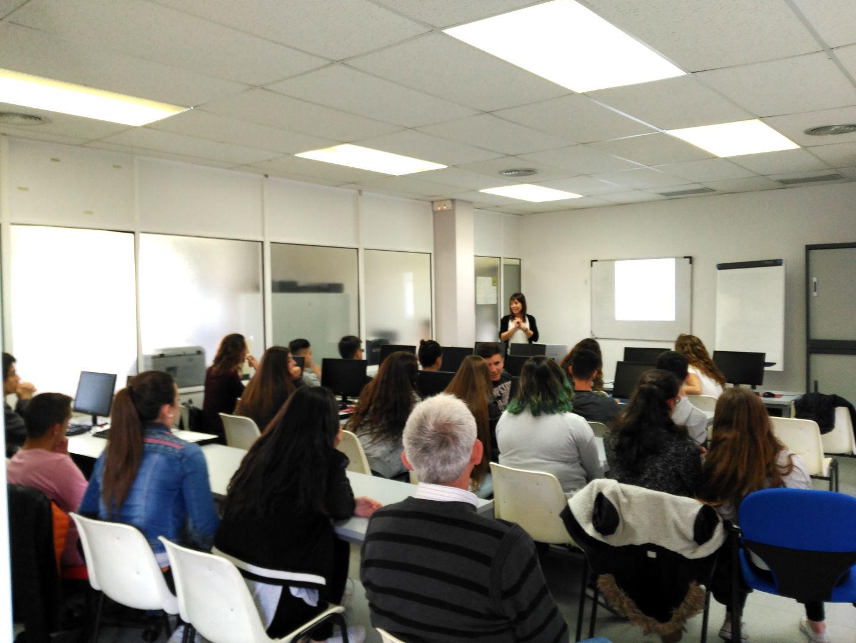 Els alumnes de 4rt d'ESO visiten el servei d'orientació laboral