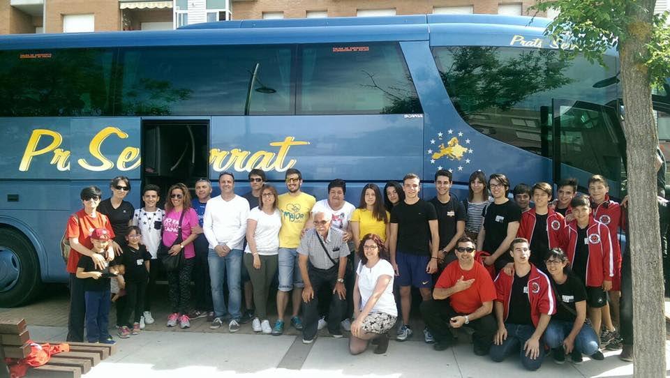 El grup de l'agermanament viatja a Calcinaia per Santa Ubaldesca