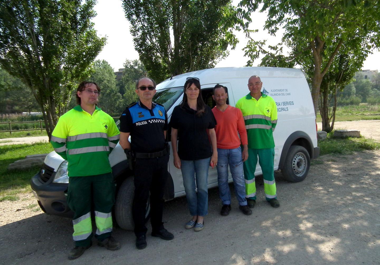 S'afegeix un vehicle a la flota municipal per fer el manteniment del parc fluvial