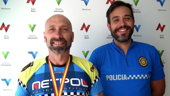 Alejandro suma una altra plata als VI Jocs Europeus de Policies i Bombers