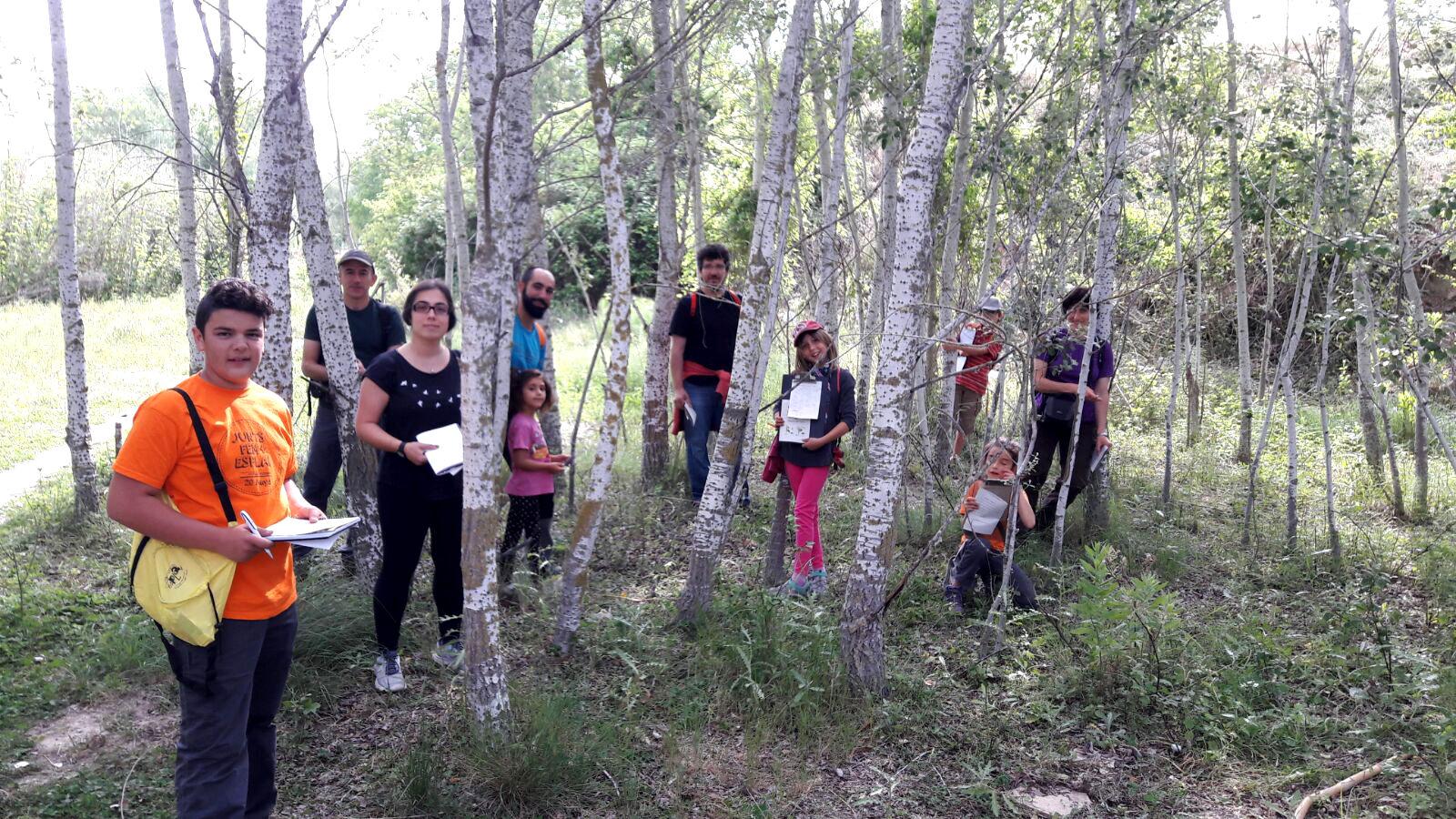 GEDEN mostra a les famílies les plantes i els mamífers de Vilanova del Camí