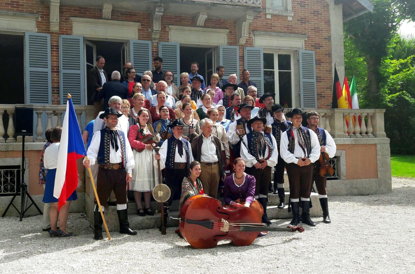 Vilanova i Amilly estrenyen llaços d'amistat en una nova edició de la Festa d'Europa