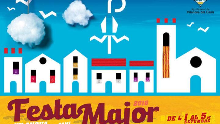 Festa Major 2016 – Programa d'actes