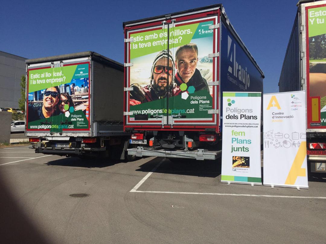 Empreses de transport promocionaran els Polígons dels Plans a Catalunya, Espanya i Europa