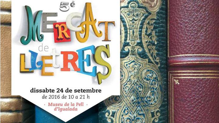 El Mercat de Lletres serà punt de trobada per als lectors i autors anoiencs