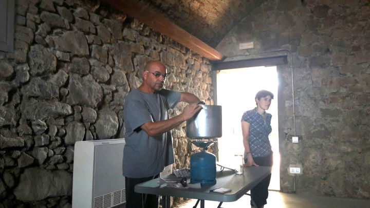 Dolça tarda de dissabte amb GEDEN elaborant melmelada de móres