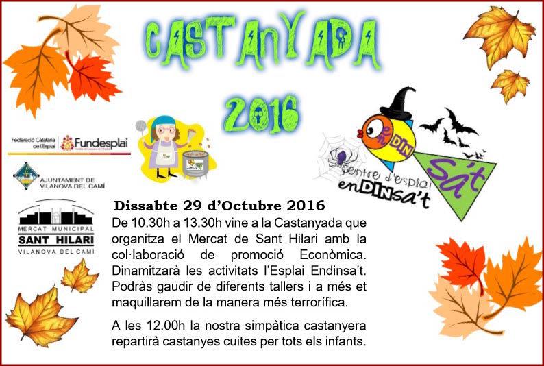Vilanova del Camí es prepara per l'escalfor de les castanyes