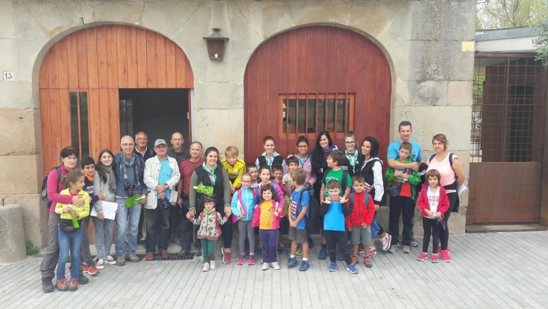 Una trentena de persones descobreixen el Parc Fluvial de la mà de GEDEN – FOTOGRAFIES
