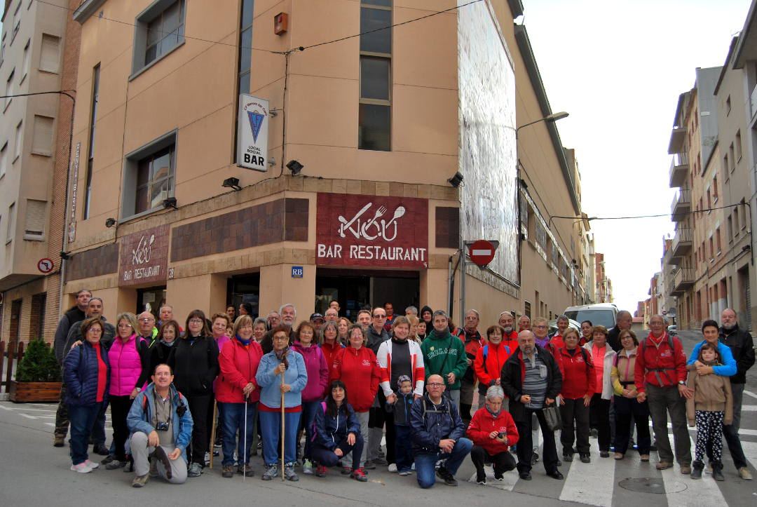 La Colla contribuirà amb un miler d'euros a la Marató de TV3