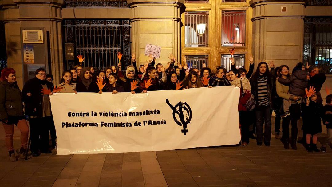 La Plataforma feminista de l'Anoia alerta que volen suprimir el Jutjat de Violència sobre la dona d'Igualada