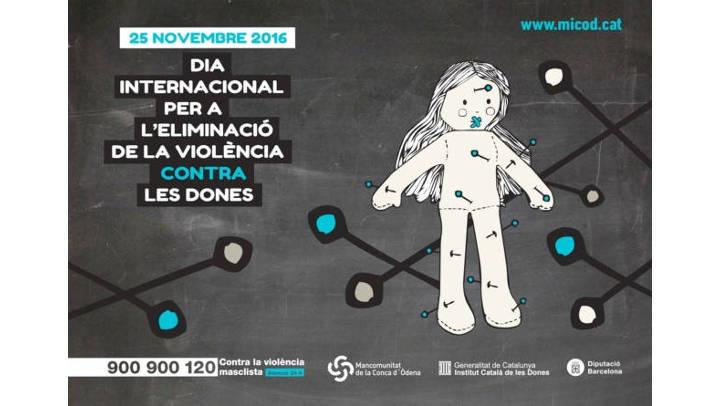 Arrenquen els actes commemoratius pel 25N i l'abordatge de la violència masclista