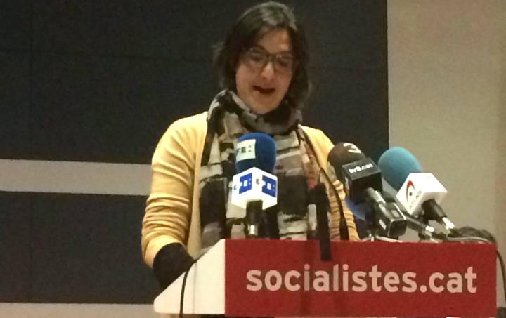 La socialista vilanovina Noemí Trucharte al nou corrent intern del PSC Roj@s