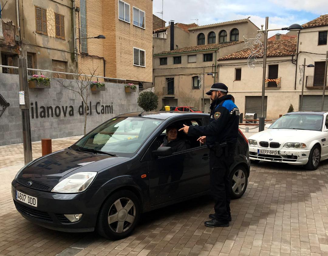Dispositius policials de trànsit especials en alguns esdeveniments nadalencs  ÀUDIO 