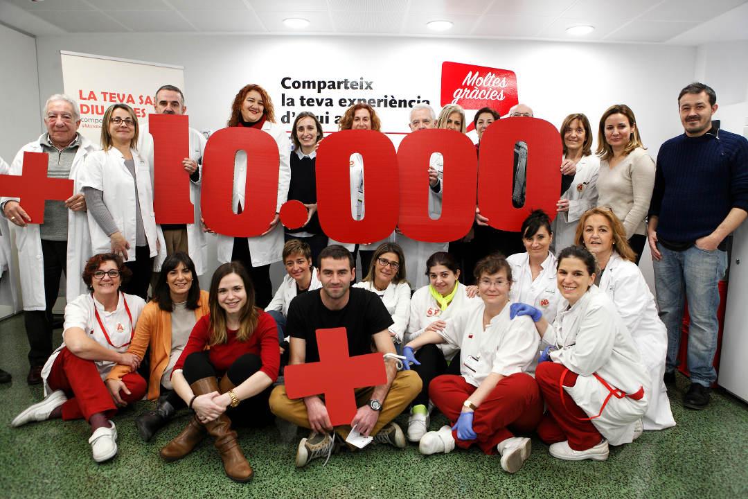 La Marató de Donants de Sang 2.0 de Catalunya supera el repte de les 10.000 donacions