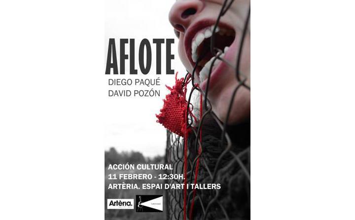 'A flote' arriba en estat pur amb Diego Paqué i David Ponzón a la galeria Artèria ÀUDIO 
