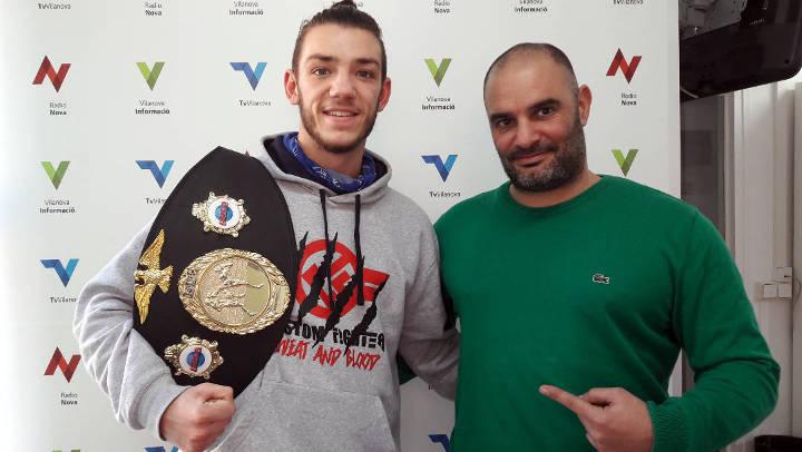 Talent i esforç, la fusta del campió d'Europa de Muay Thai, Dani Molero |ÀUDIO|