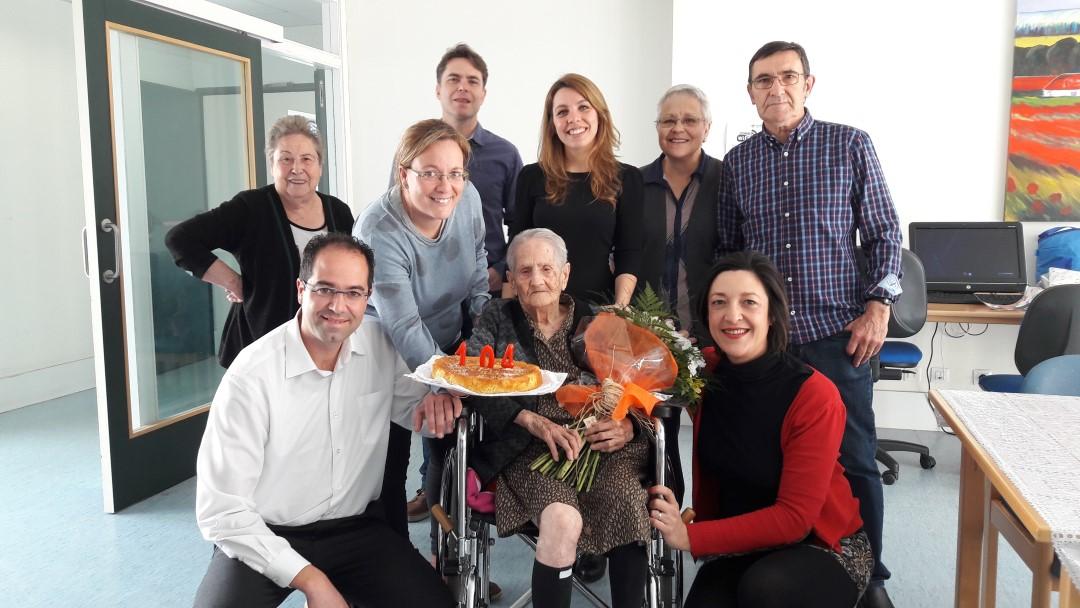Teodora Vaquero 104 aniversari |FOTOGRAFIES|