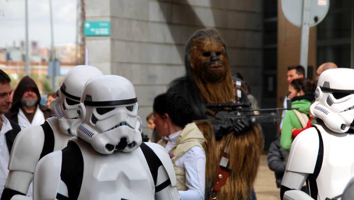 La gran família Star Wars torna a desfilar de la mà del Rewind a Vilanova |FOTOS|