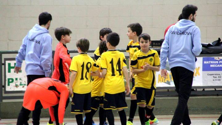 Dues derrotes, un empat i una victòria per al FS Vilanova Seguros Bilbao
