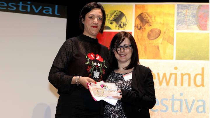 Noemí Trucharte destaca la creació audiovisual i agraeix a +QCine la promoció internacional de Vilanova