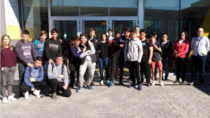 Alumnes del Joan Mercader participen en una ruta tecnològica pel Centre d'Innovació Anoia