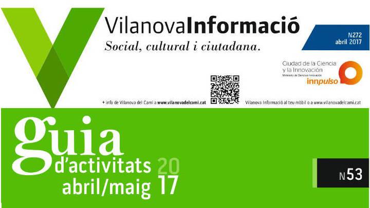 Es reprèn la publicació del butlletí Vilanova Informació i la Guia municipal