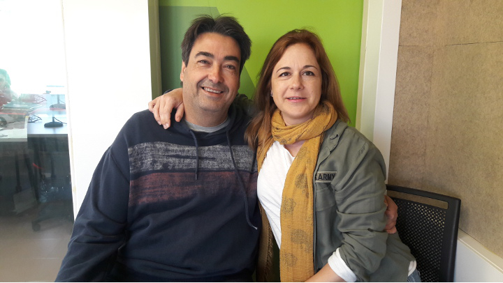 """Rosalba Sánchez i José María Escalante: """"Volem seguir aprenent"""""""