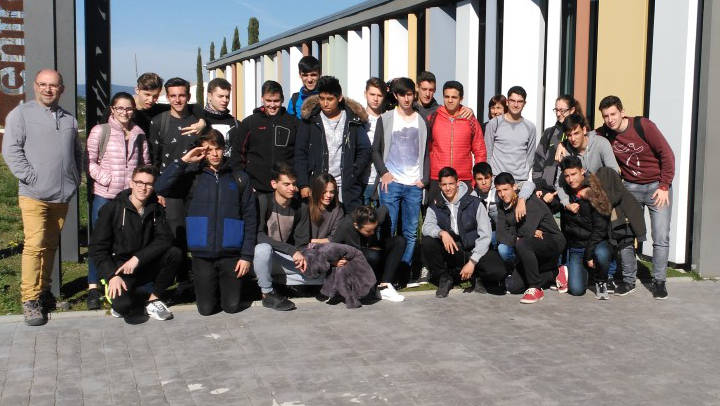 Un grup de 24 estudiants passen pel Centre d'Innovació Anoia |FOTOS|