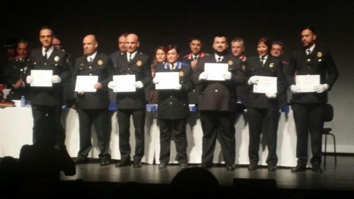 Dos policies vilanovins entre els més de 170 agents reconeguts en el Dia de les Esquadres