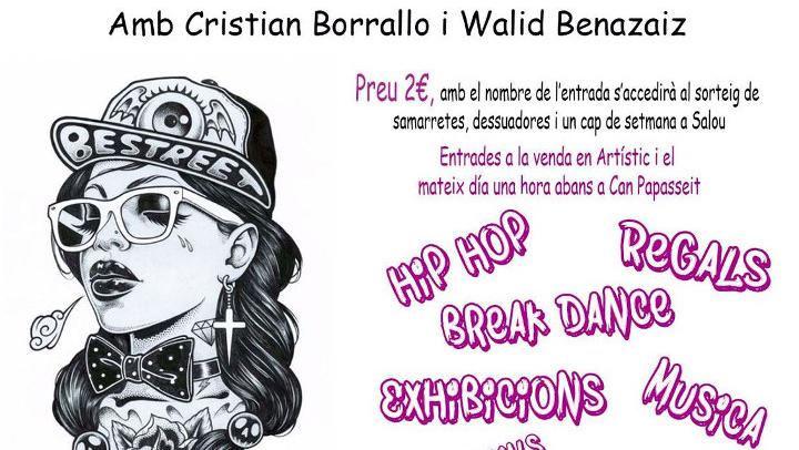 Artístic celebra el dia de la Dansa i l'onzè aniversari de l'escola amb una  Festa de danses urbanes