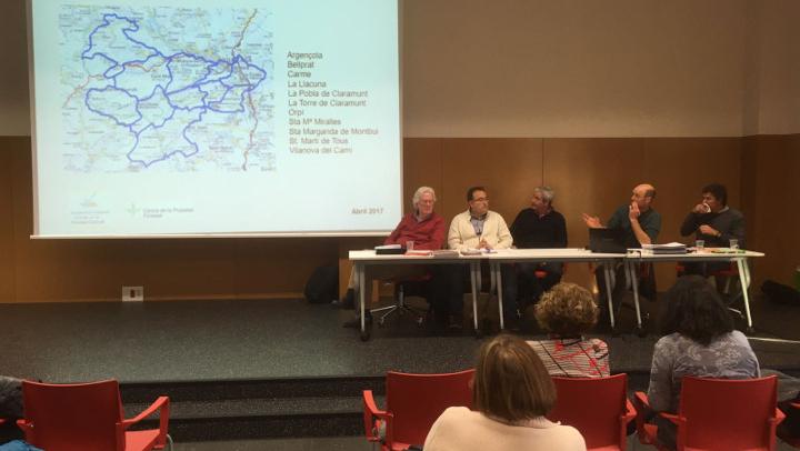 Una setantena de propietaris participen en la presentació del Pla Tècnic de Gestió i Millora Forestal