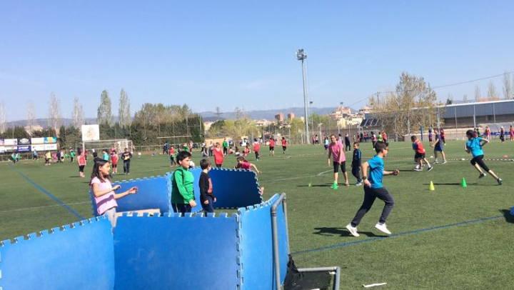 400 nens i nenes gaudeixen de diferents activitats a Vilanova en el darrer dia del trimestre |FOTOS|
