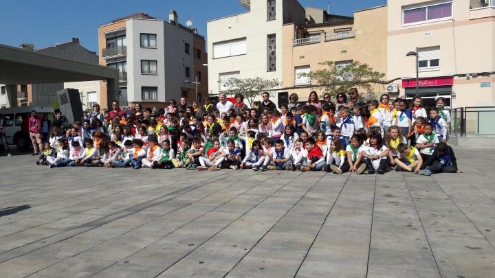 Emoció i nervis a l'estrena del 2n en dansa, un projecte que ha implicat les tres escoles vilanovines |ÀUDIO i FOTO|