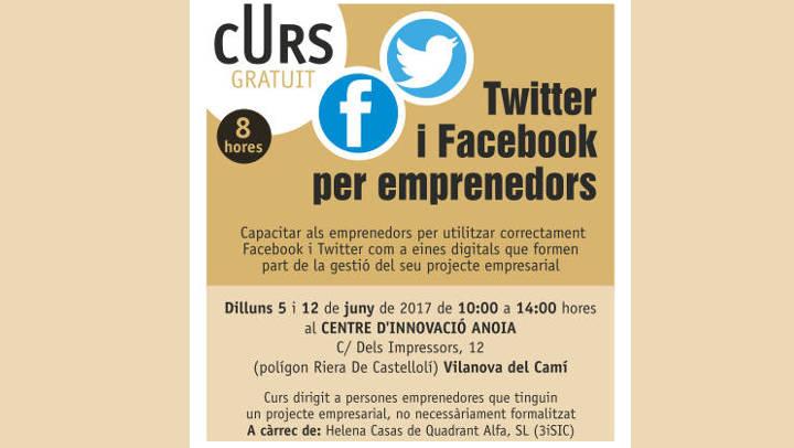 Curs per a emprenedors per treure suc a Twitter i Facebook