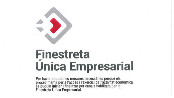 La Generalitat reconeix l'Ajuntament vilanoví amb el distintiu de la FUE