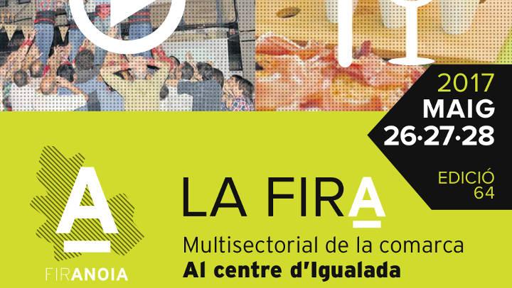 Fira d'Igualada exposa els quadres de la Subhasta solidària a la sala l'Empremta de Gràfiques Vilanova