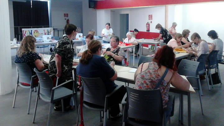 Èxit total al taller solidari de Kimo Kap a Vilanova del Camí