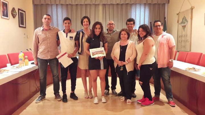 L'Alcaldessa Noemí Trucharte rep els alumnes que han participat al Projecte Morera |ÀUDIO i FOTOS|