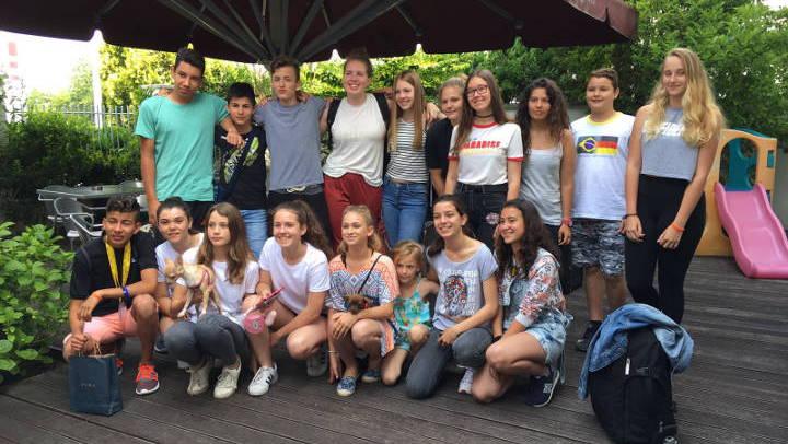 Tres alumnes vilanovins de 4t d'ESO participen a Eslovènia en la segona trobada Erasmus +