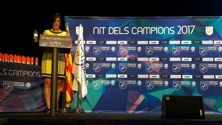 Can Papasseit acull aquesta tarda una nova edició de la Nit dels Campions de la Federació Catalana de Futbol