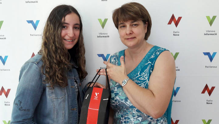 La foto d'una parella d'ànecs de Noa Vallès premiada al#vilanovanatura de maig |ÀUDIO|
