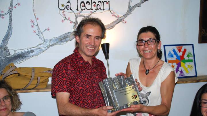 Vilanova Comerç lliura els premis de la Ruta de la Tapa, Tasta l'Anoia 2017