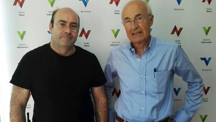 ADF i Protecció Civil de Vilanova del Camí fan front comú contra el foc |ÀUDIO|